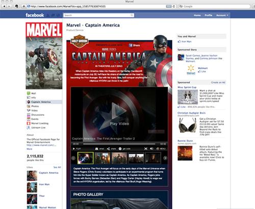 captainamerica facebook