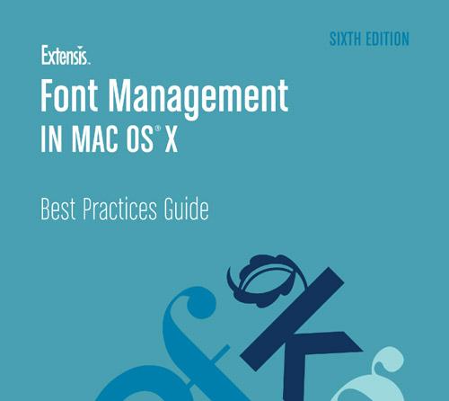 extensis font management