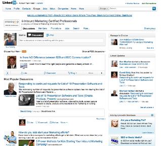 LinkedIn Inbound Marketing Groups