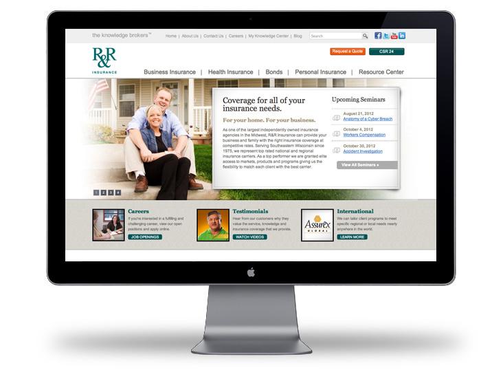R&R Insurance WebSite