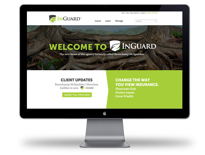 INGUARD website
