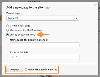 how to edit url to open link in new tab