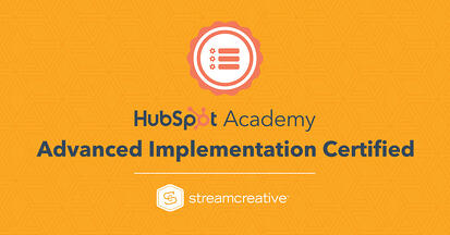 HubSpot CMS Advanced Implementation Certified Stream Creative Wisconsin