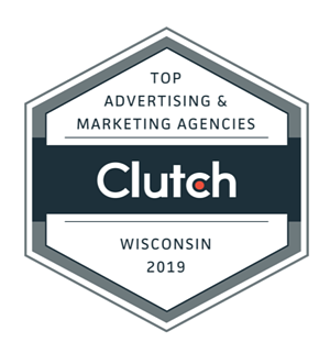 Stream Creative recognized by Clutch as top marketing and advertising agency in Wisconsin.