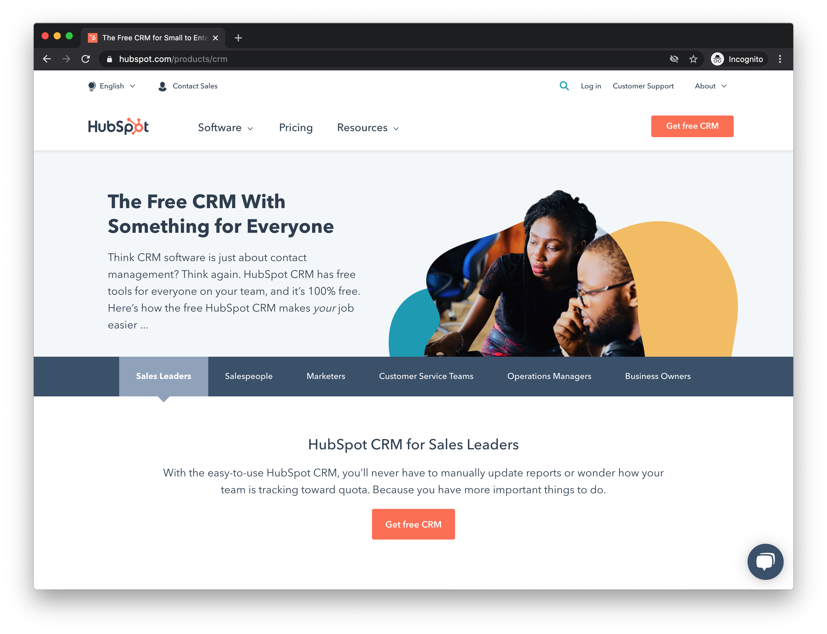 Using HubSpot CRM for content marketing