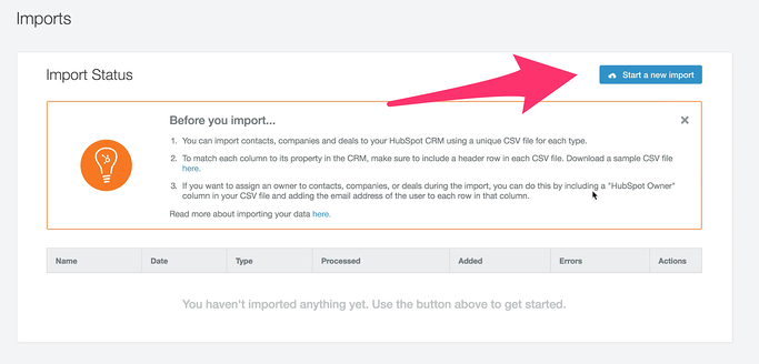 How to Import Your Salesforce Company Contacts Into HubSpot