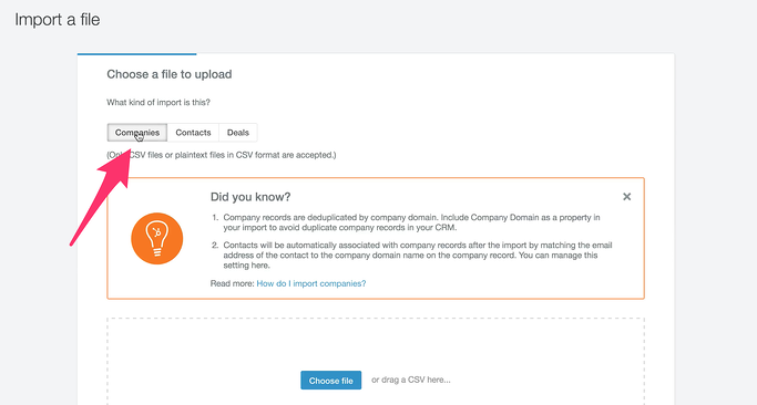 How to Import Your Salesforce Company Contacts Into HubSpot CRM