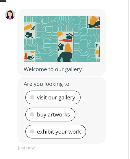 chatbot example messages
