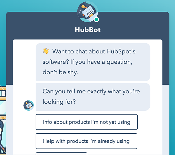 chatbot example if/then logic