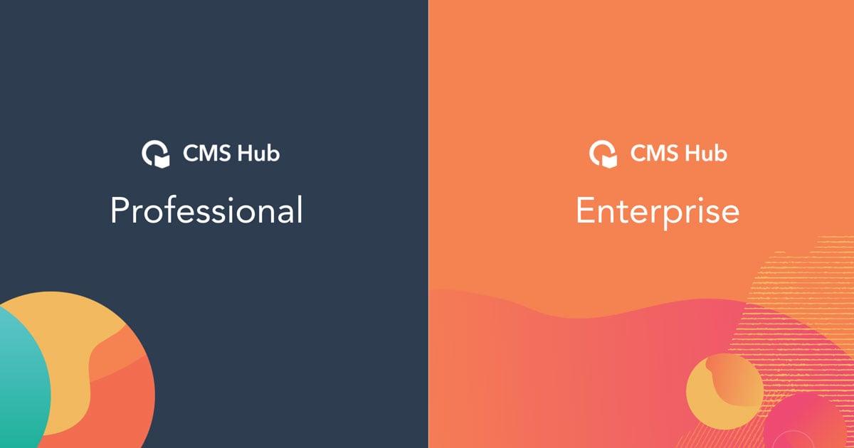 HubSpot CMS Hub Pro vs Enterprise