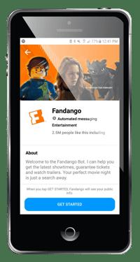 fandango chatbot example