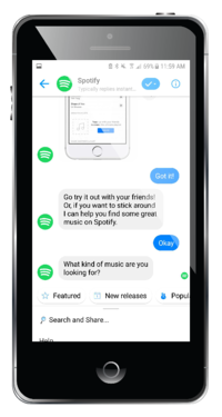 spotify chatbot example