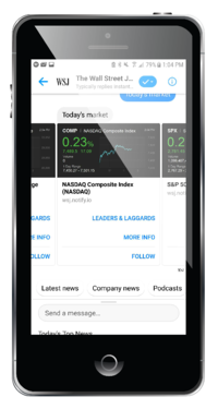 the wall street journal chatbot example