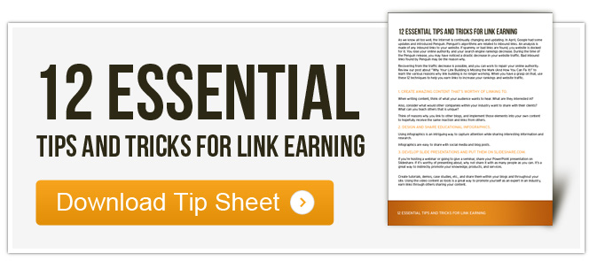 12 Essential Tips and Tricks for Inbound Link Earning