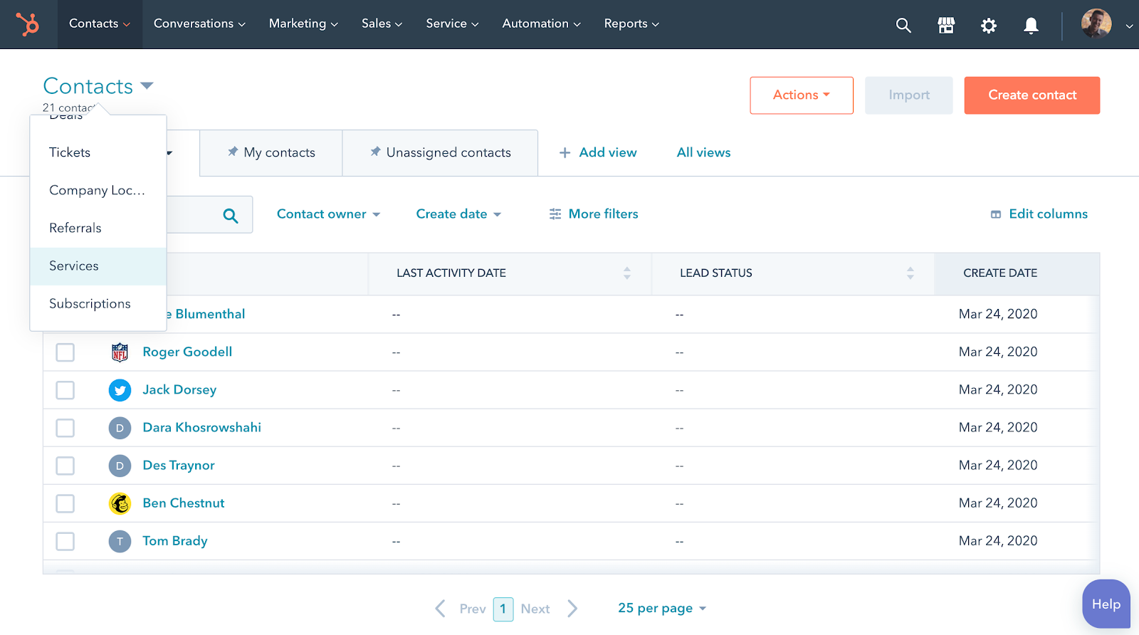 HubSpot Custom Object CRM Example
